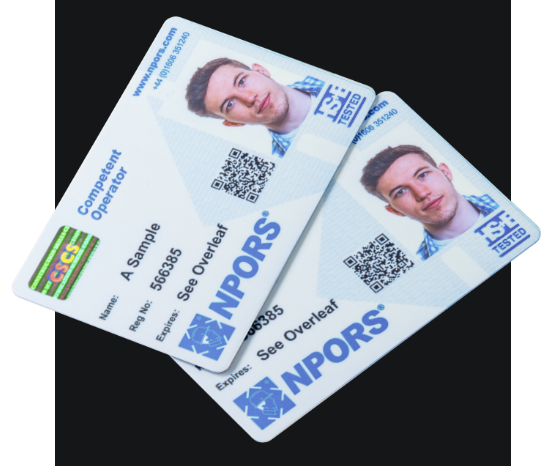 NPORS Card - Competent Operator